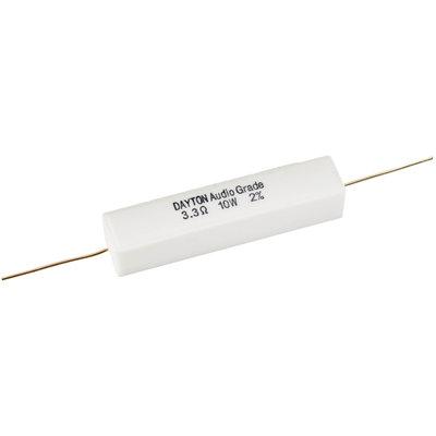 Dayton Audio 3.3 Ω | 10 W | 2% | Precision Audio Grade Resistor