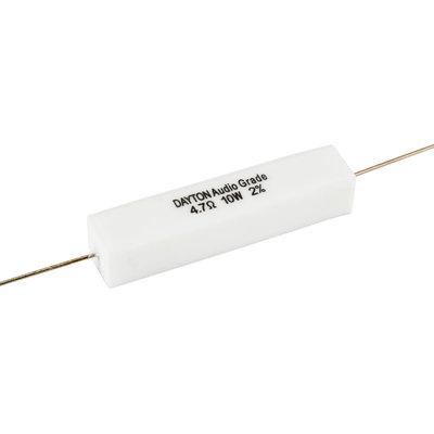 Dayton Audio 4.7 Ω | 10 W | 2% | Precision Audio Grade Resistor