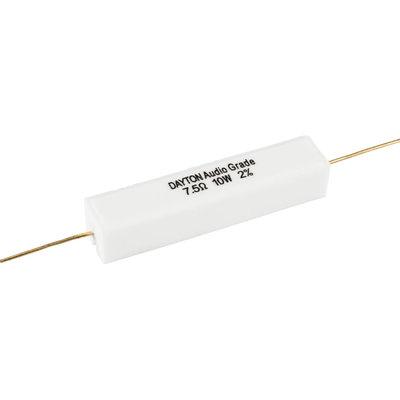Dayton Audio 7.5 Ω | 10 W | 2% | Precision Audio Grade Resistor