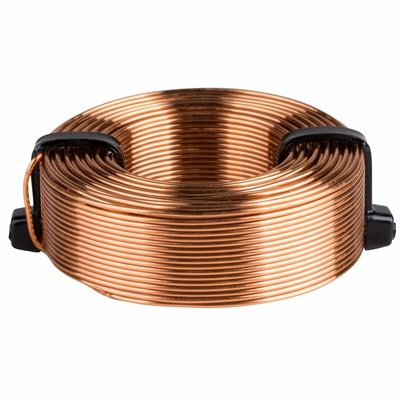 Dayton Audio AC202 | 2.0 mH | 1.06 Ω | 5% | 20 AWG | Air Core Inductor Crossover Coil
