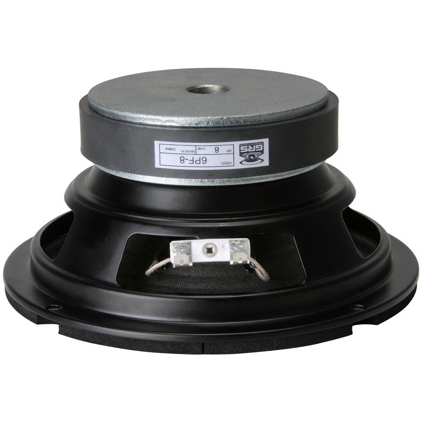 """GRS 6PF-8 6-1//2/"""" Paper Cone Foam Surround Woofer"""