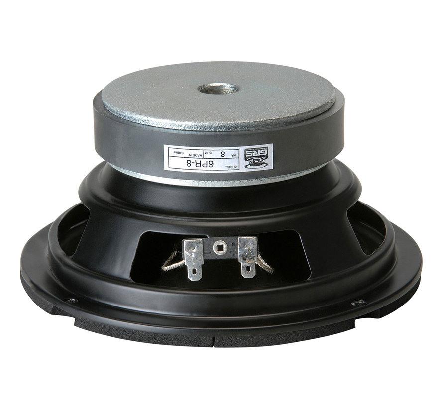 """6PR-8 6-1/2"""" Poly Cone Rubber Surround Woofer"""
