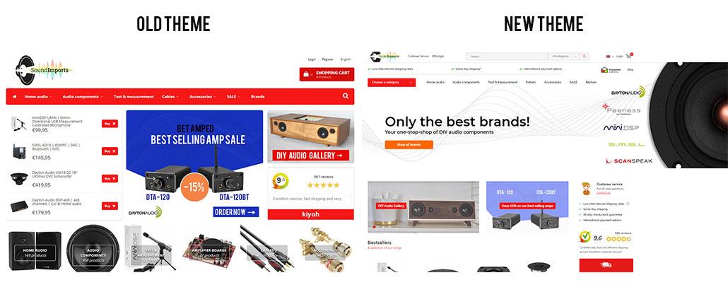 #23 News: New webshop theme
