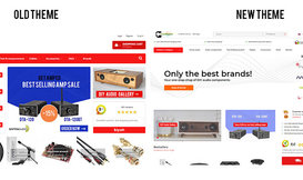 #23 News: New webshop theme