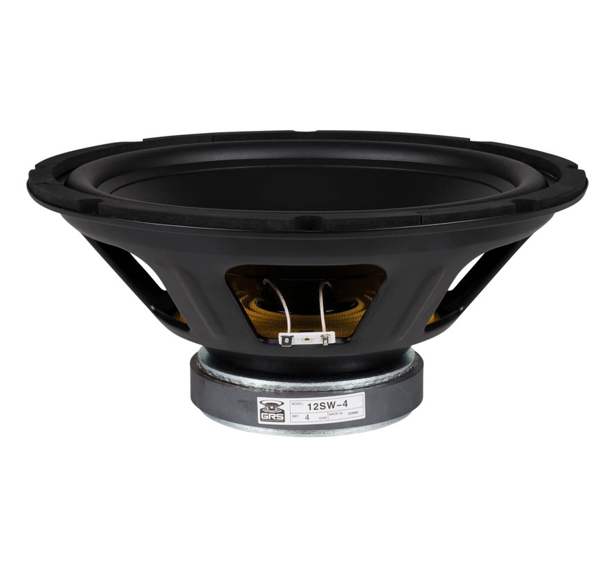 "12SW-4 12"" Poly Cone Subwoofer 4 Ohm"