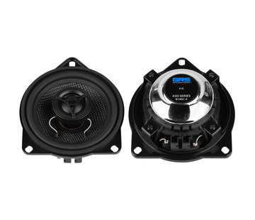 "GRS B100C-4 ASD Series 4"" Glass Fiber Cone Coaxial Speaker Pair Upgrade Kit for Select BMW Models"