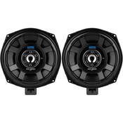"GRS B200-4 ASD Series 8"" Glass Fiber Subwoofer Speaker Pair Upgrade Kit for Select BMW Models 4 Ohms"