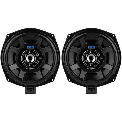 "GRS B200-2 ASD Series 8"" Glass Fiber Subwoofer Speaker Pair Upgrade Kit for Select BMW Models 2 Ohms"