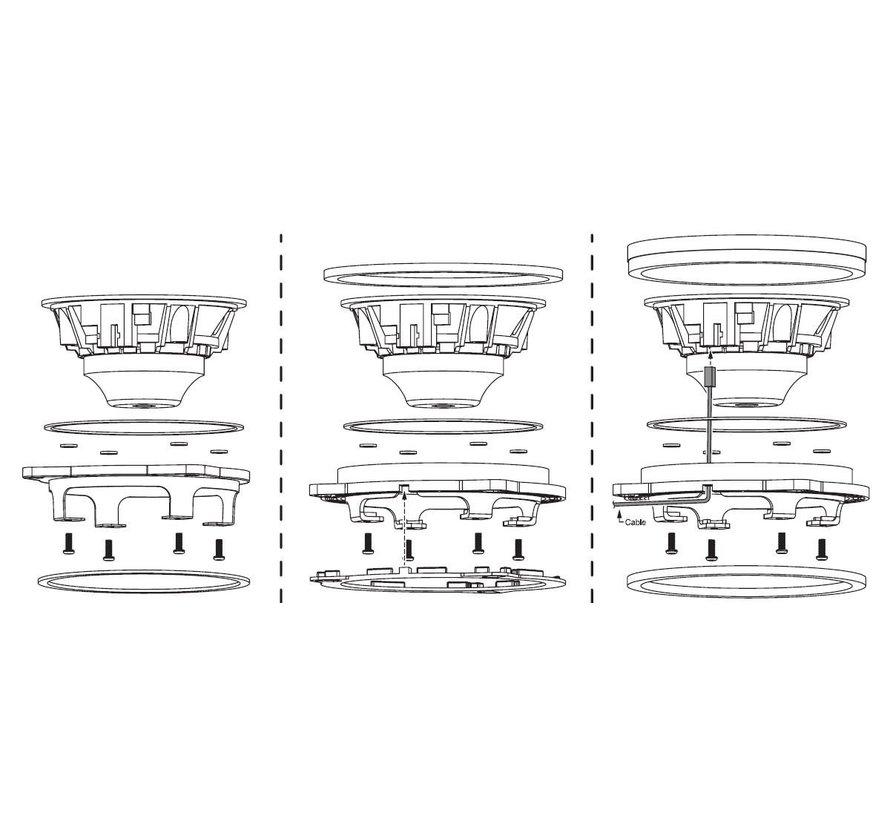"B100-4 ASD Series 4"" Glass Fiber Cone Speaker Pair Upgrade Kit for Select BMW Models"
