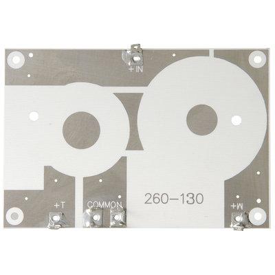 Crossover PC Board 2-Way 12 dB | 9,53 x 13,97 cm