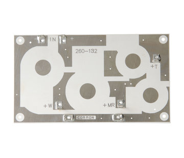 Crossover PC Board 3-Way 12 dB | 10,16 x 17,78 cm