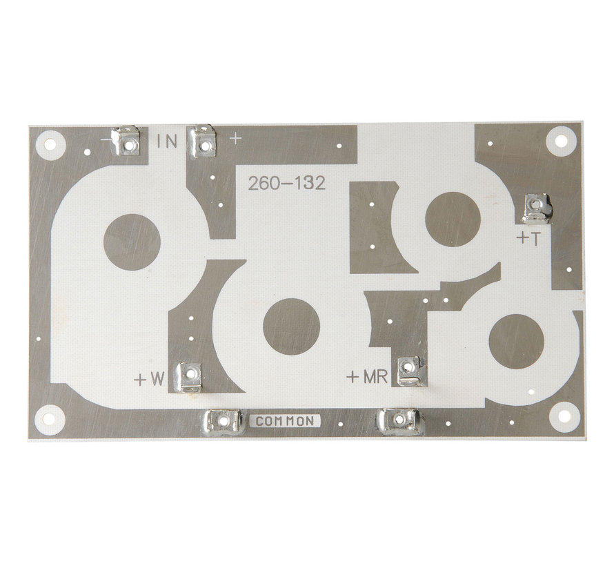 Crossover PC Board 3-Way 12 dB | 10,16 x 17,78 cm