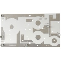 Crossover PC Board 3-Way 12 dB | 12,70 x 22,86 cm