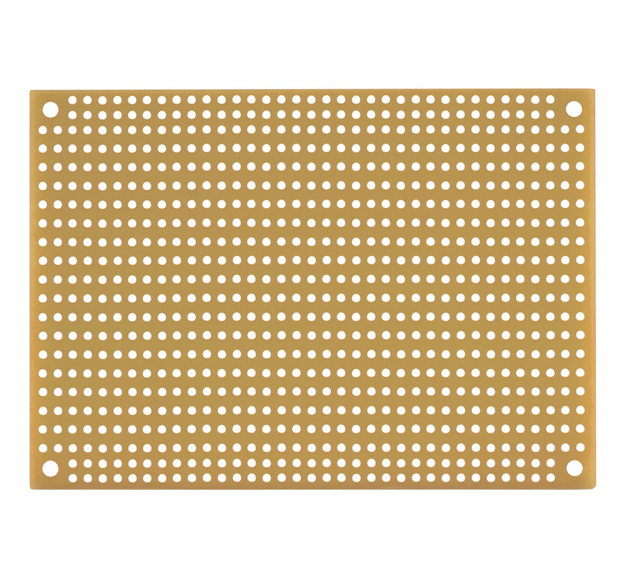Red Perforated Crossover Board | Pair | 8,89 x 12,70 cm