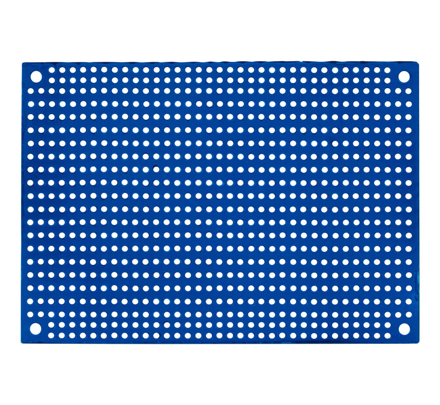 Blue Perforated Crossover Board | Pair | 8,89 x 12,70 cm