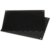 Black Perforated Crossover Board | Pair | 8,89 x 12,70 cm