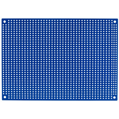 Blue Perforated Crossover Board | Pair | 12,70 x 17,78 cm