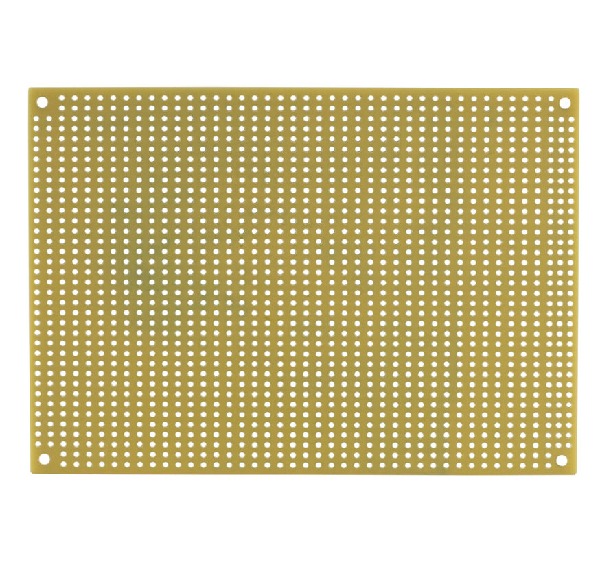 Black Perforated Crossover Board | Pair | 12,70 x 17,78 cm