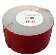 Mundorf L100-1,80   1,80 mH   0,70 Ω   2%   18 AWG