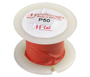 Mundorf P50-18   18 mH   5,77 Ω   3%   24 AWG