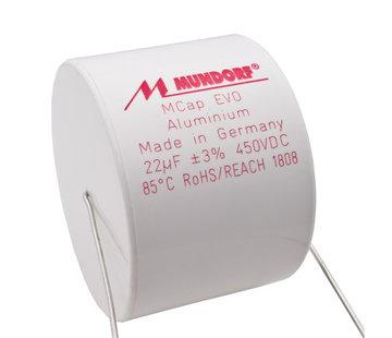 Mundorf ME-22T3.450   22 µF   3%   450 V