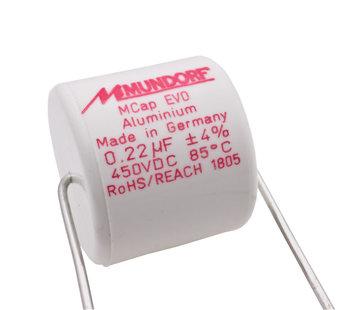 Mundorf ME-0,22T4.450   0,22 µF   4%   450 V