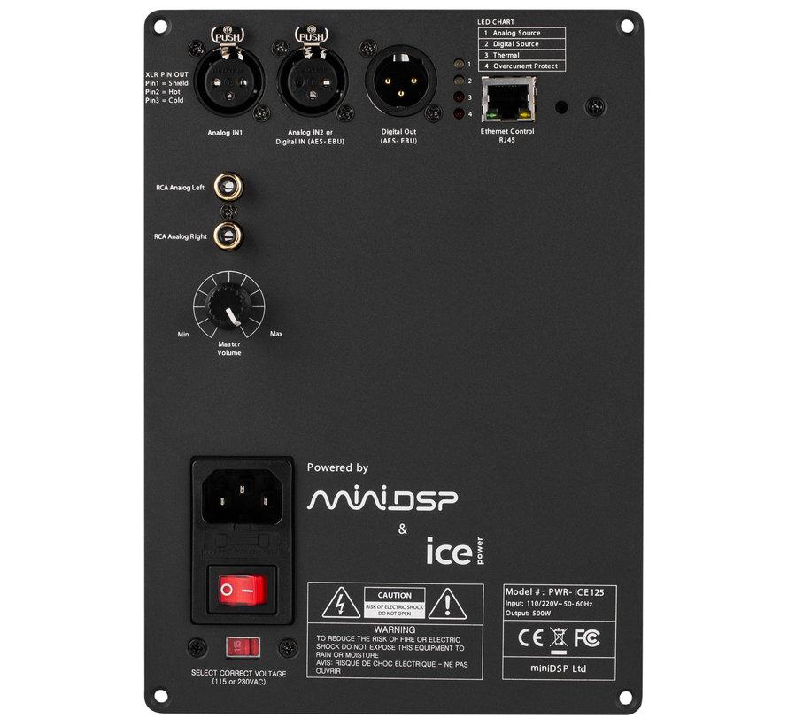 PWR-ICE125 2x125 Watt DSP ICEpower Plate Amplifier