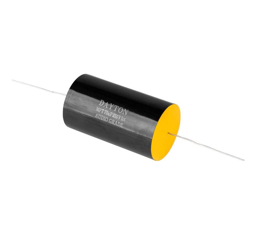 DMPC-75 | 75 µF | 5% | 250 V | Polypropylene Capacitor