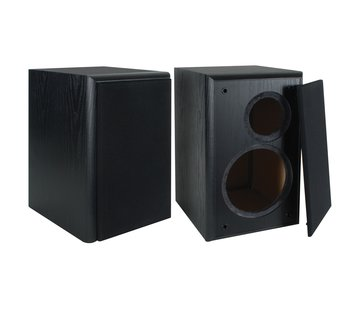 "Dayton Audio BR-1CAB BR-1 6-1/2"" 2-Way Speaker Cabinet Pair"