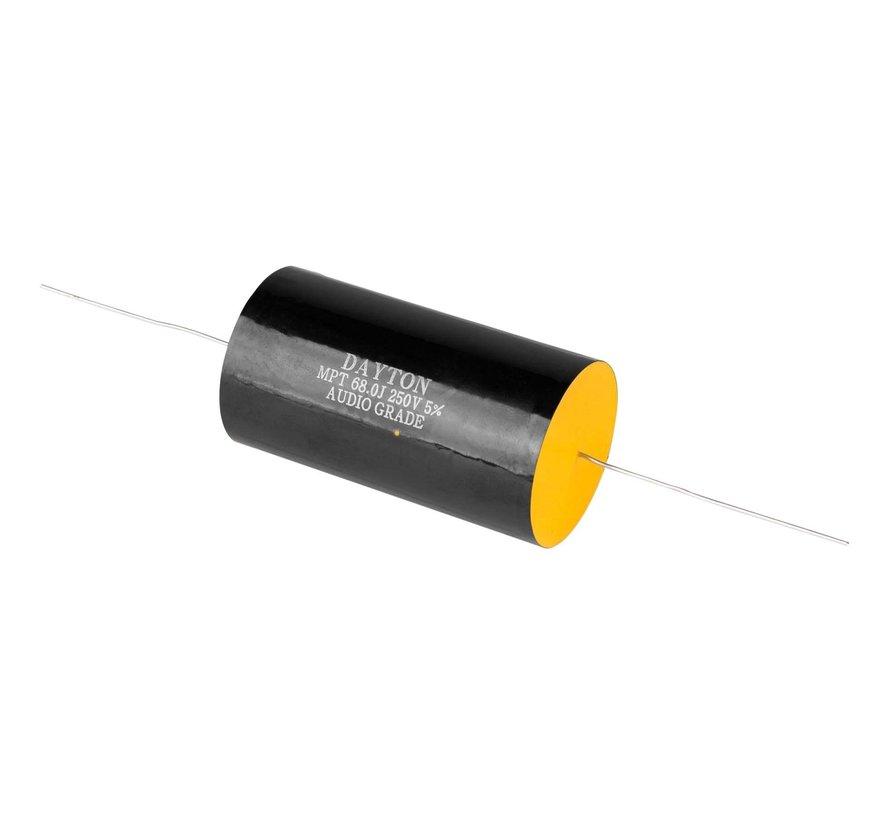 DMPC-68 | 68 µF | 5% | 250 V | Polypropylene Capacitor