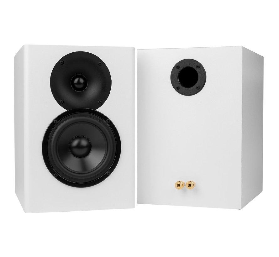 C-Note MT Bookshelf Speaker Kit Pair w/ Knock-Down Cabinets