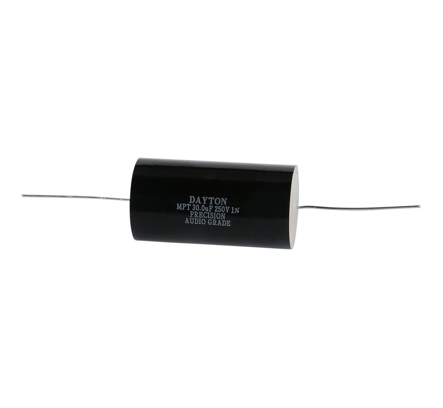 PMPC-30 | 30 µF | 1% | 250 V | Precision Audio Capacitor
