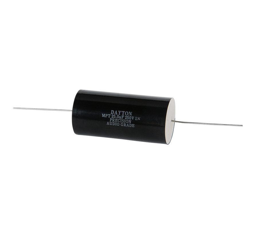 PMPC-25 | 25 µF | 1% | 250 V | Precision Audio Capacitor