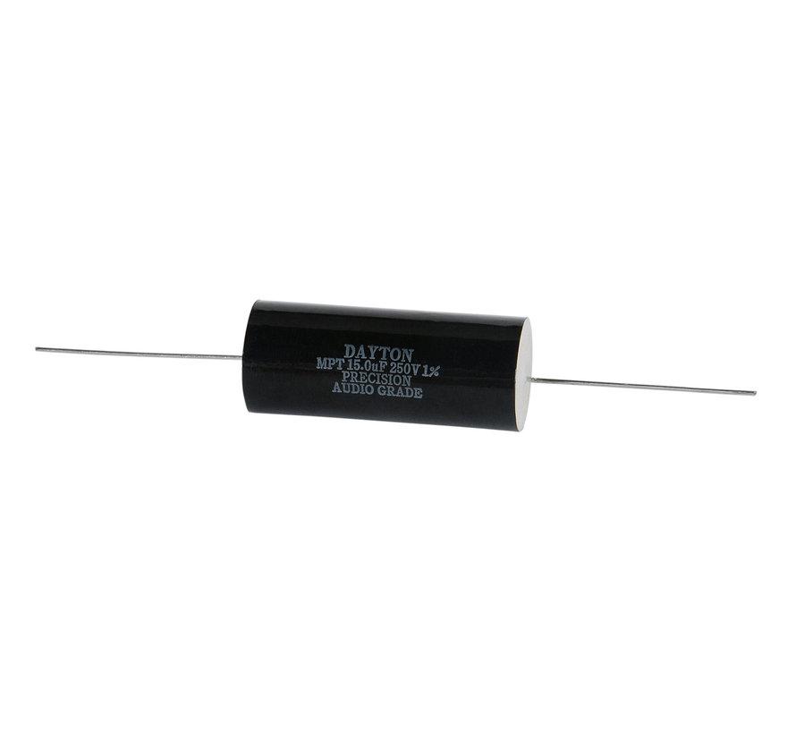 PMPC-15 | 15 µF | 1% | 250 V | Precision Audio Capacitor