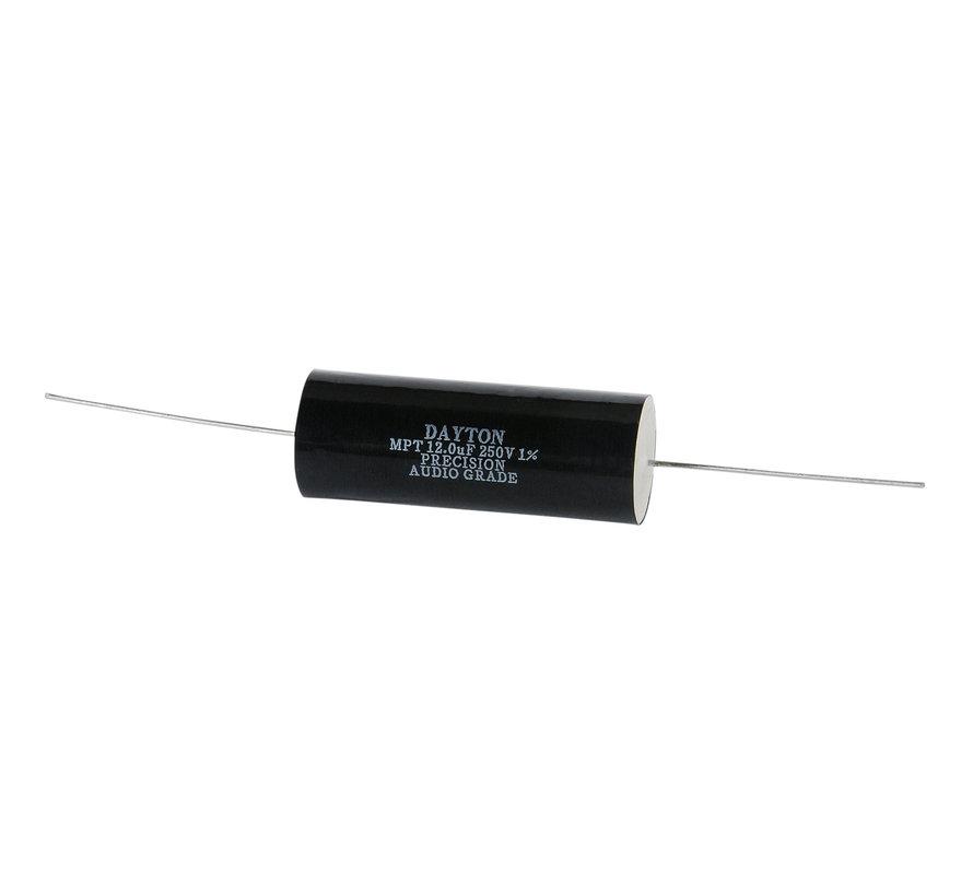 PMPC-12 | 12 µF | 1% | 250 V | Precision Audio Capacitor