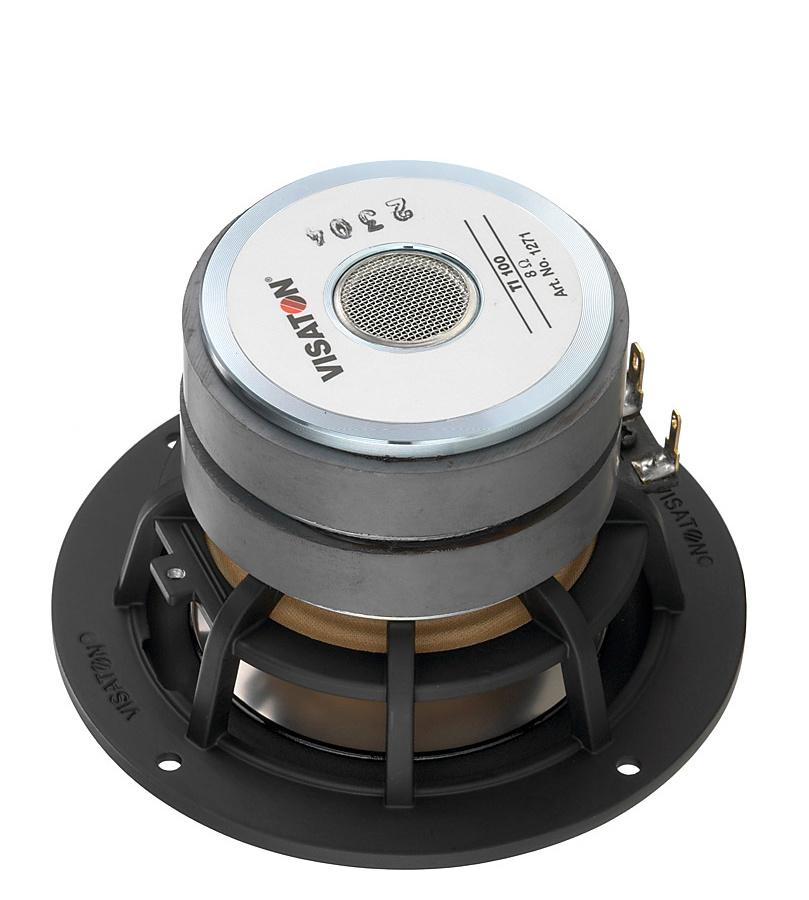 Visaton M 10 4 Sealed Back Cone Midrange Driver 8 Ohm