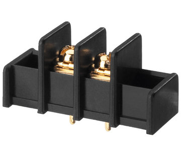 Monacor TBS-2/GO Gold-Plated Screw Terminals For PCB mounting