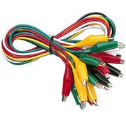 Monacor MK-612S Connection leads | 5 x 2 Colors set