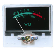 Monacor V-22 Panel Meter With VU Lettering