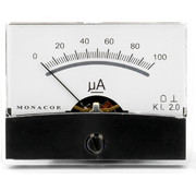 Monacor PM-2/100UA Panel Meter With VU Lettering