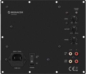 Monacor SAM-200D Subwoofer-Einbauverstärker