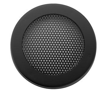 "Monacor Decorative Speaker Grill | Round Perforation | Sizes: 3"" to 12"""