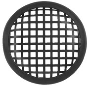 "Monacor Protective Speaker Grill | Square Perforation | Sizes: 5"" to 18"""