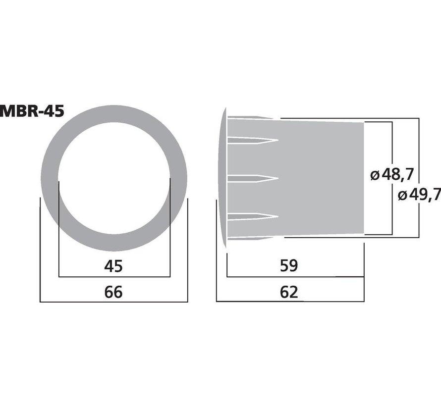 MBR-45 Bassreflex Tube | 45 x 62 mm