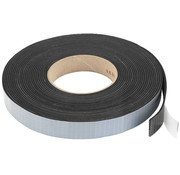 Monacor MDM-35 rubber sealing tape | 2 x 20 mm | 10 m