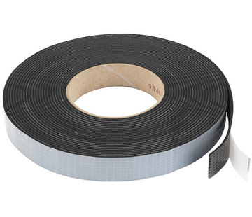 Monacor MDM-35 rubber sealing tape | 2 x 20 mm | 10 m
