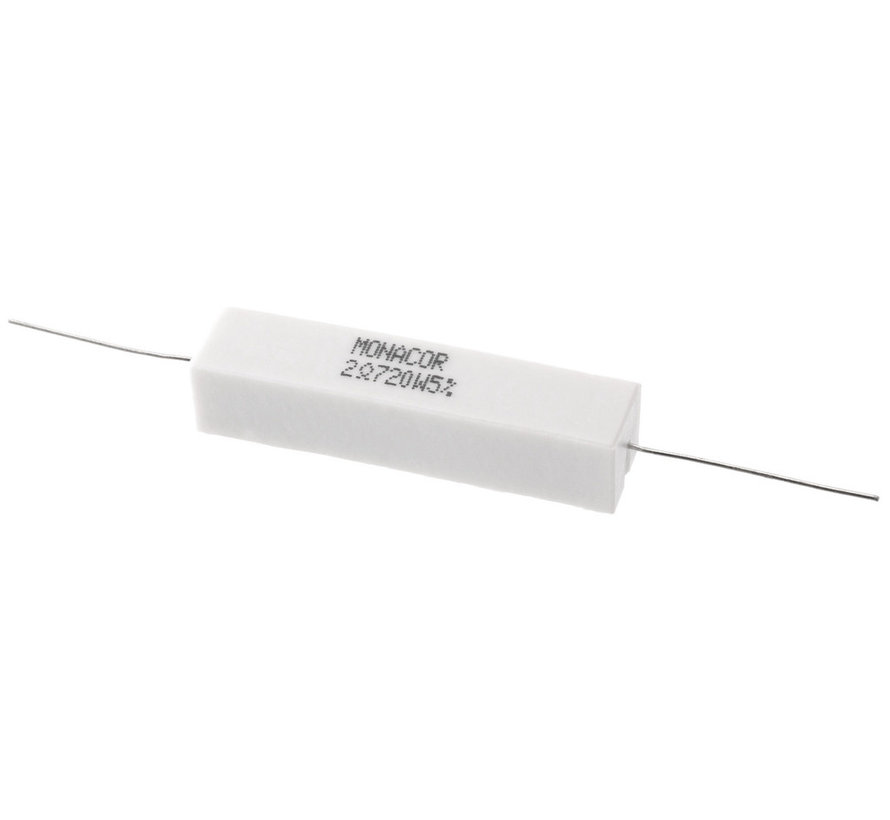 LSR-27/20 | 2,7 Ω | 20 W | 5% | High-Power Cement Resistor