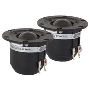 "Morel Supreme ST 728 1"" Dome Tweeter Matched Pair"