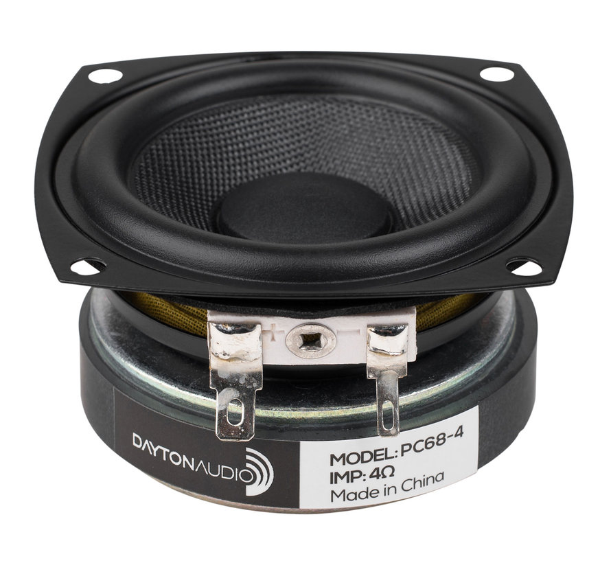 "PC68-4 2-1/2"" Full-Range Poly Cone Driver 4 Ohm"