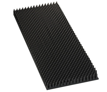 Monacor MDM-60 Speaker Wedge Moulded Foam Sheets | 60 mm